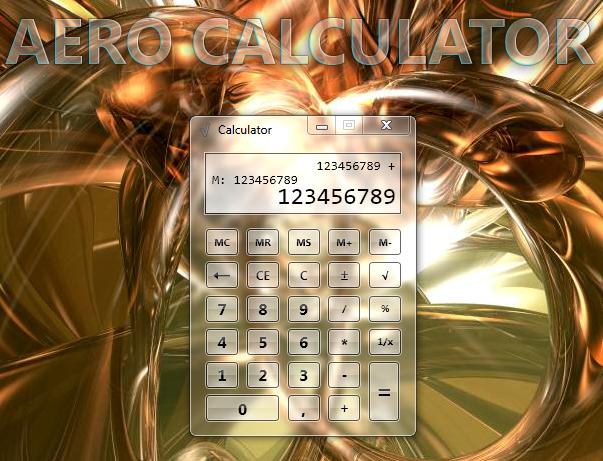 Aero Calculator скачать